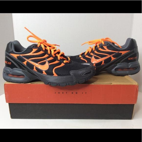 best service 66644 3d1e0 NIKE Air Max Torch 4 Black Orange Sneakers 6.5Y. M 5b2857f6fe5151b14b877d77